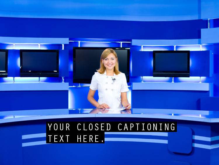 how to put captions on apple tv